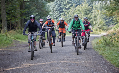 Mountain Bike Tuition and skills courses