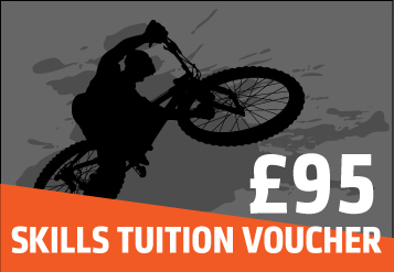 Mountain bike skills gift voucher