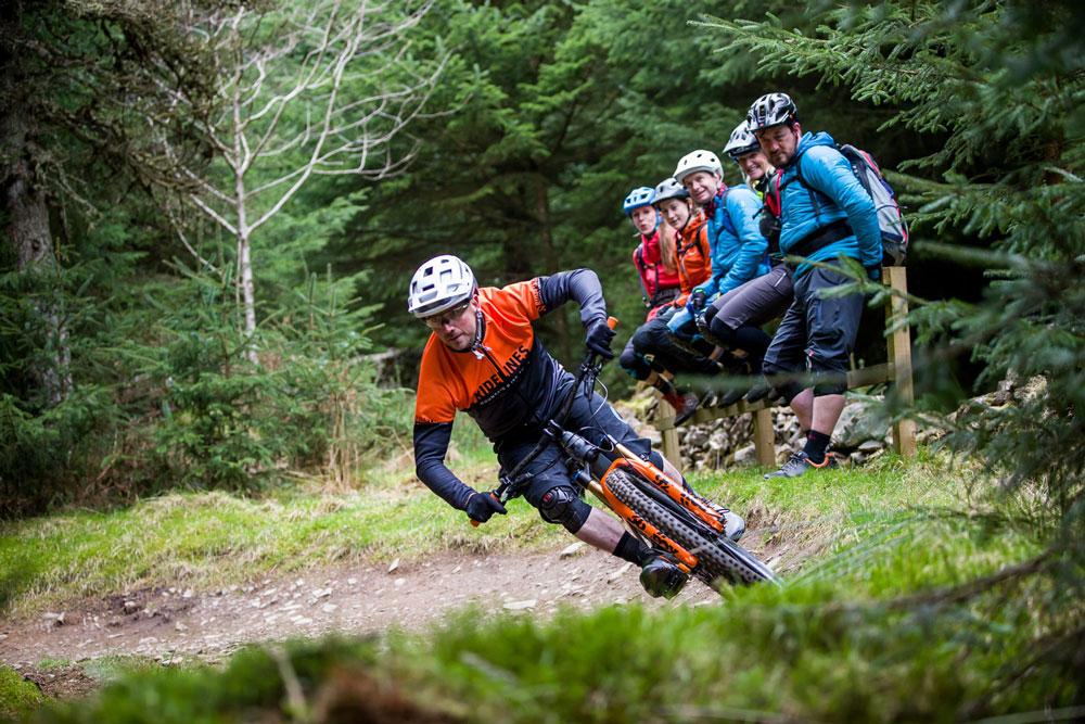 Ridelines Mountain Bike Skills Courses Glentress