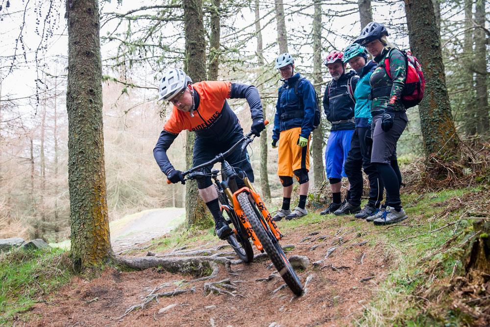Ridelines Mountain Bike Skills Courses at Glentress