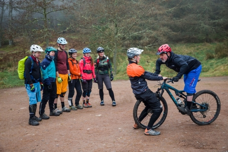 Ridelines Mountain Bike Skills Courses at Glentress