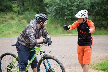 Ridelines beginners mountain bike skills course.