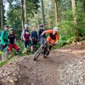 Intermediate mountain bike skills courses in Scotland