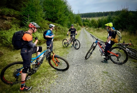 British Cycling Level 3 Mountain Bike Leadership Assessment and Training at Ridelines
