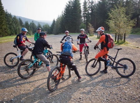 MTB group tuition days and half days