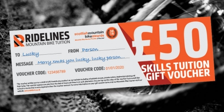 Ridelines Mountain Bike Tuition Vouchers