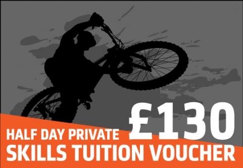 Ridelines mountain bike skills lessons voucher