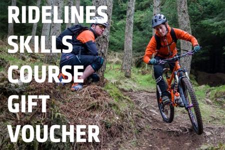 Ridelines Mountain Bike Skills Tuition Gift Voucher