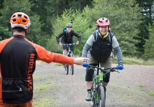 Ridelines Womens Only Mountain Bike Courses Glentress