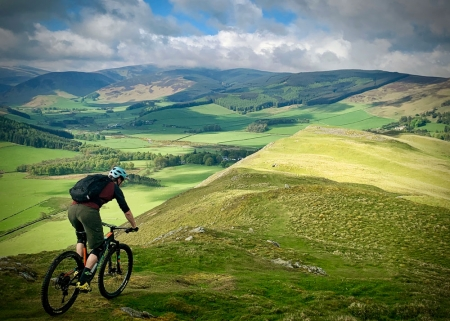 Tweed Valley Guided Mountain Bike Ride.