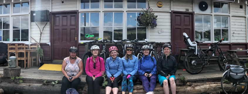 One of the Tweed Valley Easyriders groups.