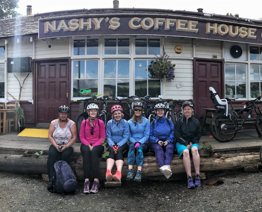 One of our awesome Tweed Valley Easyriders groups.