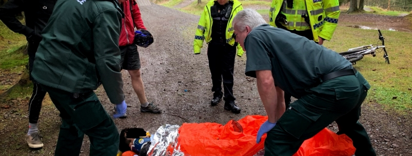 Medical Emergency at Glentress