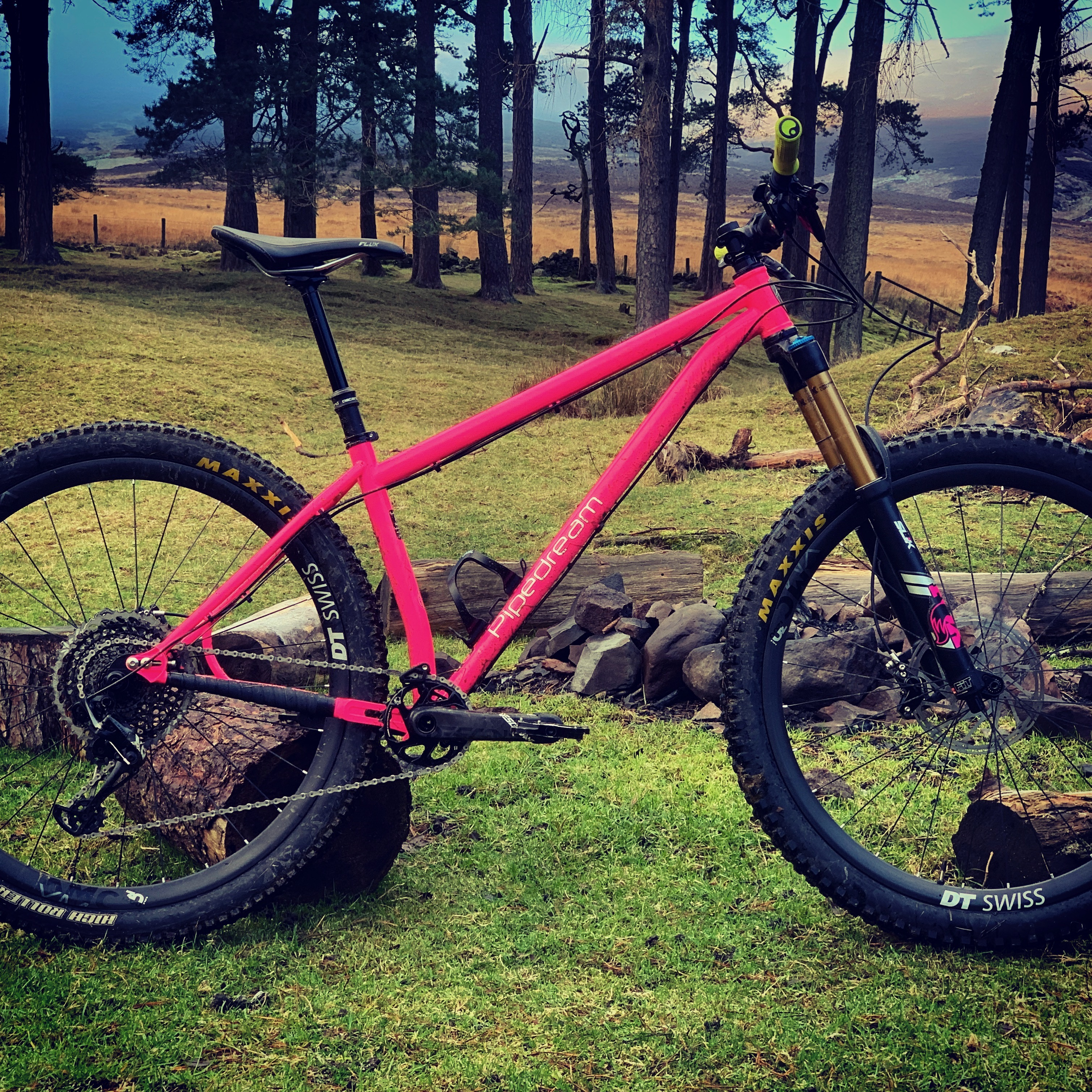 Ridelines: Pipedream Cycles Moxie Steel Enduro Hardtail Review