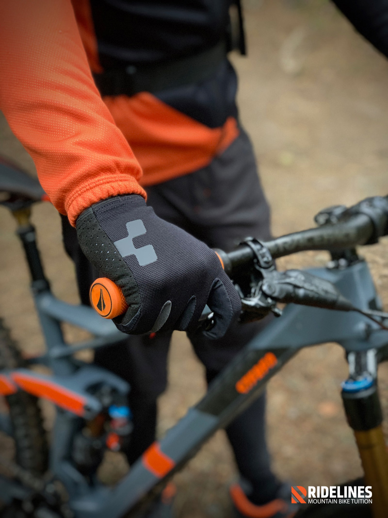 Ridelines: Cube Bikes Performance MTB gloves