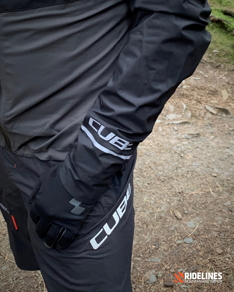 Ridelines: Cube Bikes Blackline Waterproof Jacket and Shorts