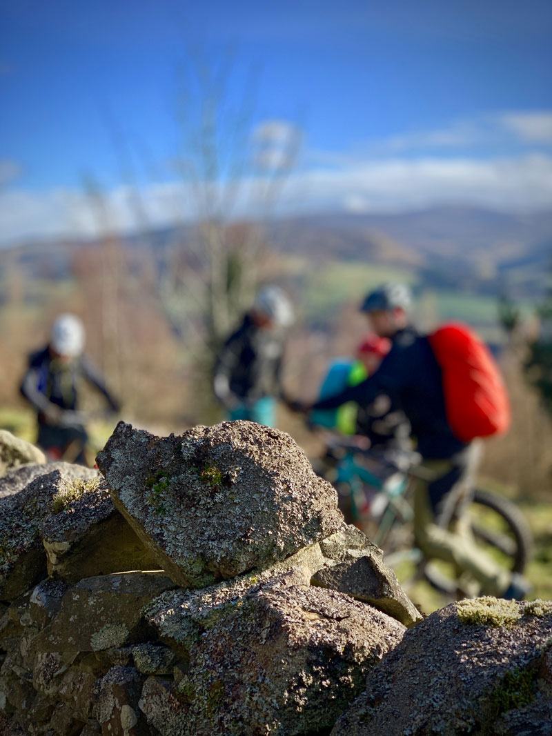 Ridelines Mountain Bike Leader Award Glentress