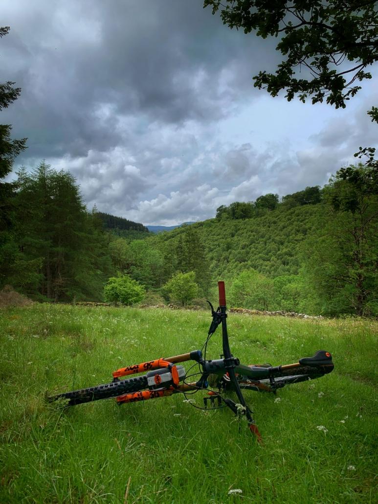 Ridelines British Cycling Level 2 Mountain Bike Leader training. Scotland