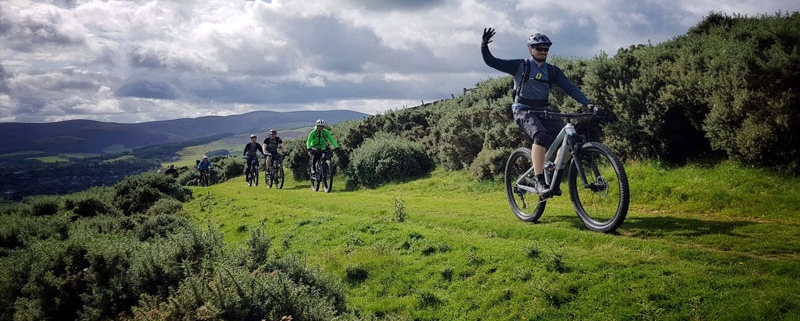 British Cycling Mountain Bike Leadership Training.