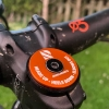 Ridelines Orange Stem Cap