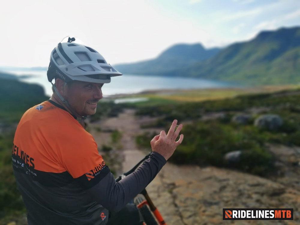 Ridelines Torridon Mountain Bike Loop Annat Descent