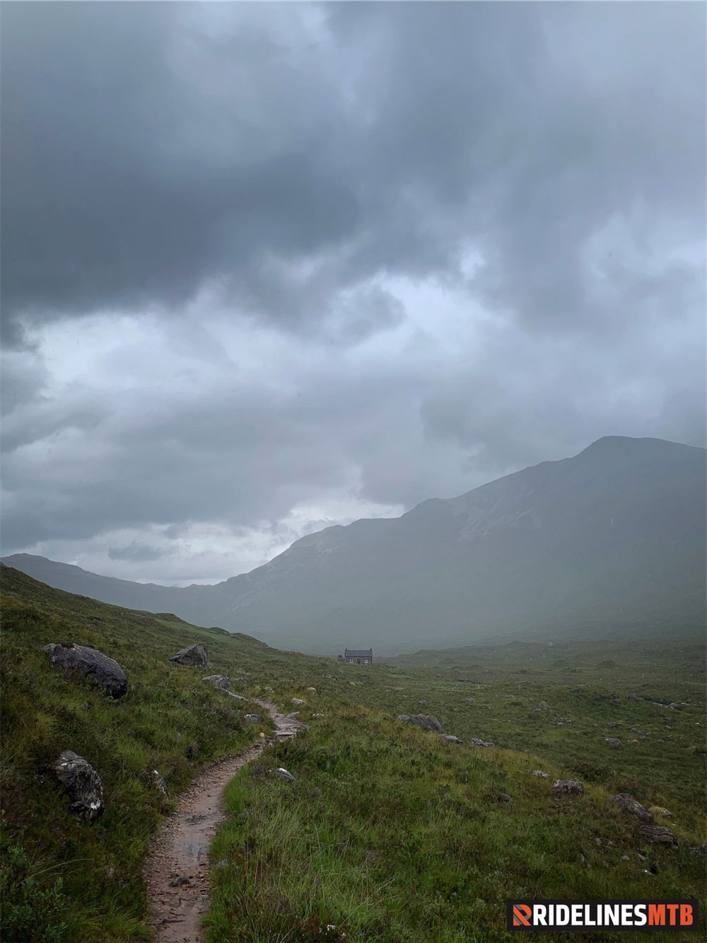 Ridelines Torridon Mountain Bike Loop Coire Fionnaraich Bothy