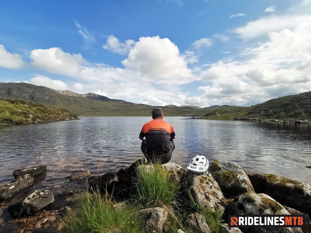 Ridelines Torridon Mountain Bike Loop Lochan Fada Fisherfield
