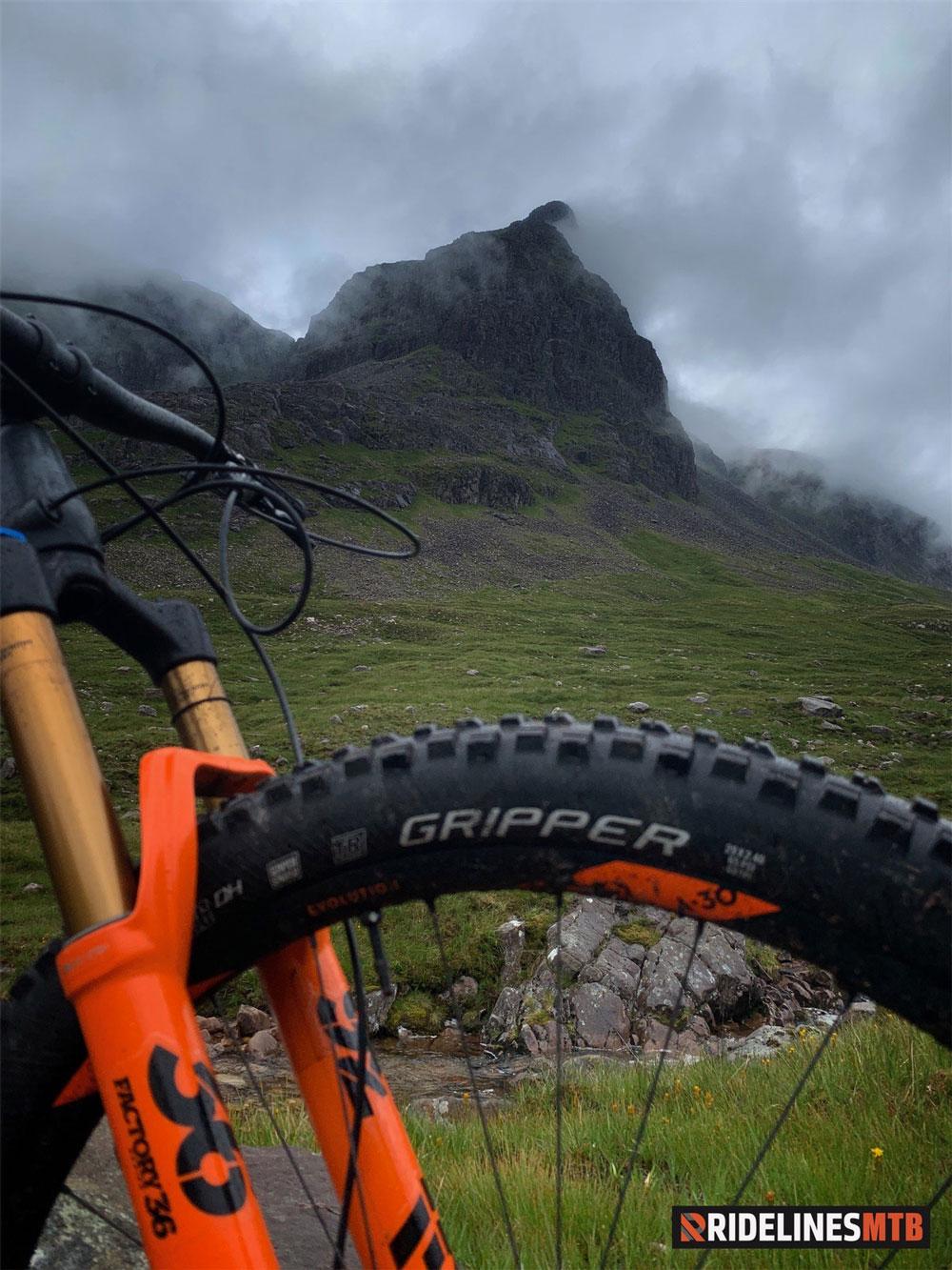 Ridelines Torridon Mountain Bike Loop MSC Tyres