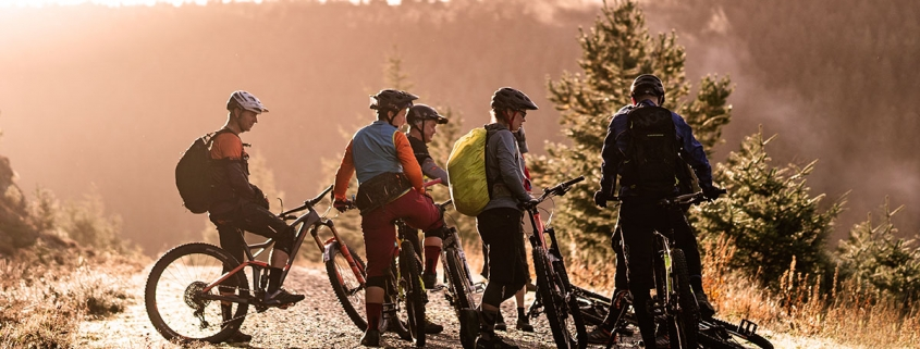 Ridelines Tweed Valley Mountain Bike Guides and Instructors.