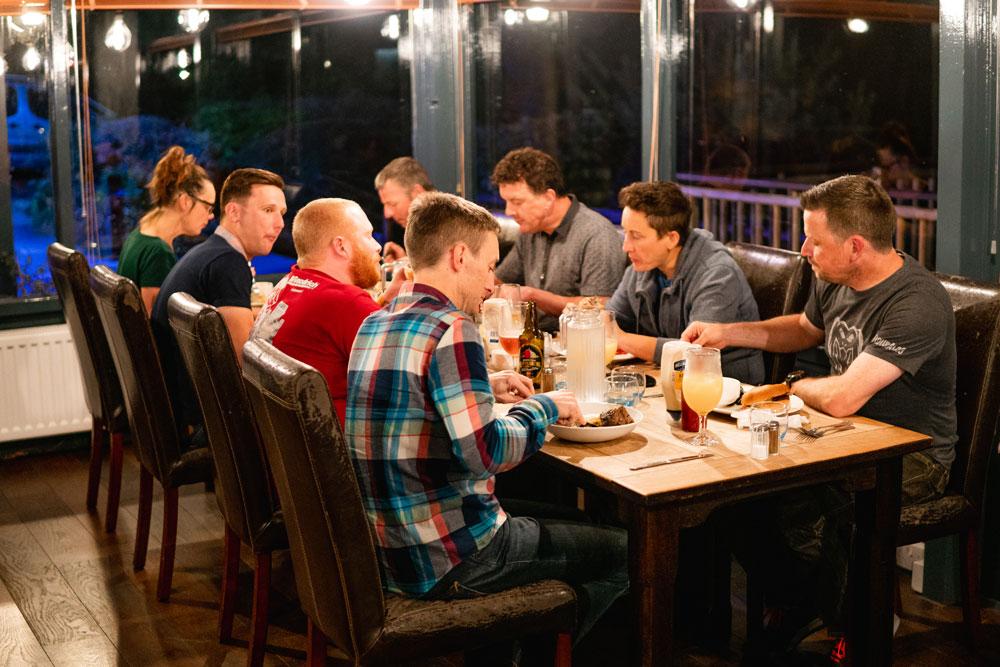 Ridelines Tweed Valley Treble-Dinner at The Glentress Hotel