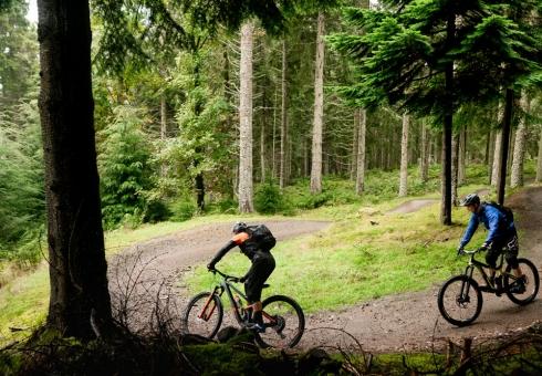 Ridelines Tweed Valley Treble Glentress Berm Baby Berm Tuition