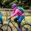 Ridelines Kids Camps Girls on Mountain Bikes