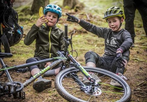 Ridelines Kids Camps MTB Fun at Glentress